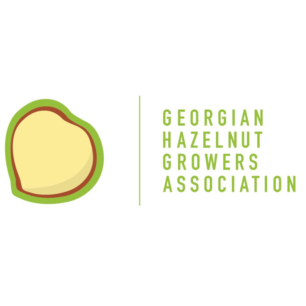 Georgian hazelnut association logo