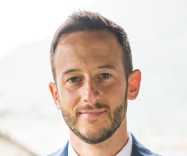Domenico Dentoni, Associate Professor in Agribusiness Management and Organisational Change at Wageningen Uni., portrait photo