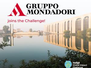 Gruppo Mondadori joins the Challenge once again!